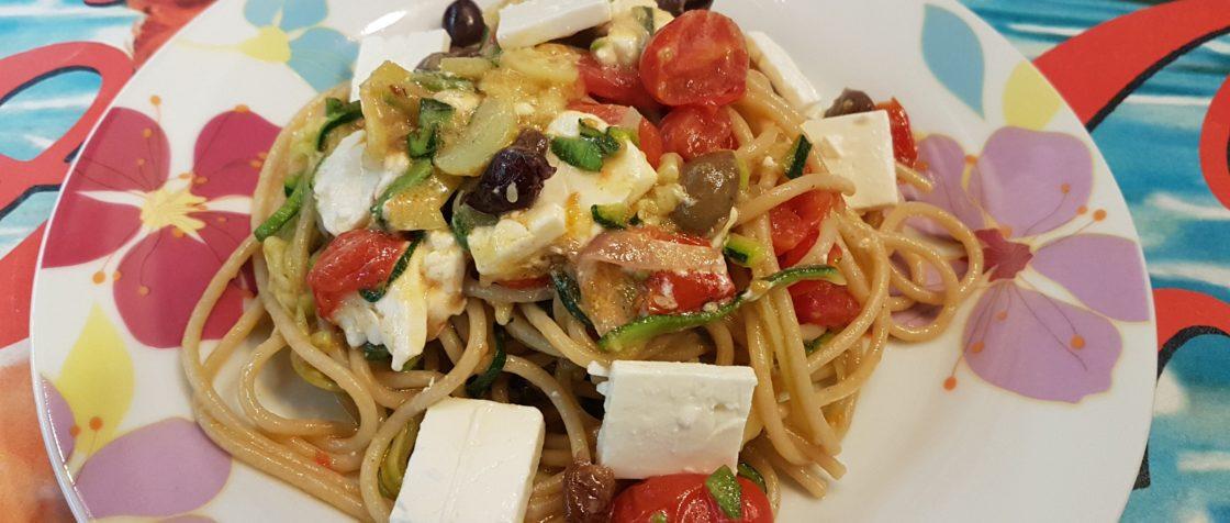 Spaghetti integrali del Coach Angela
